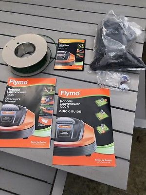 Flymo 1200r accessories and manual my robot mower