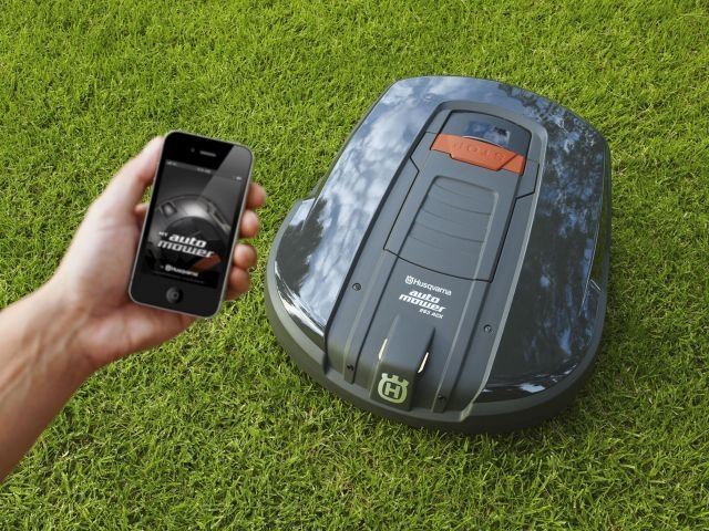 my robot mower robotic lawnmower app control